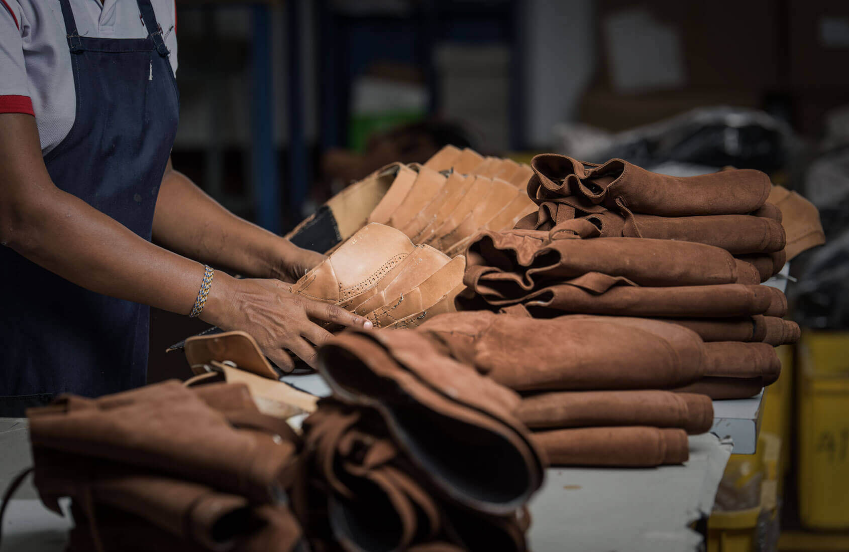 Leather Shoes Production